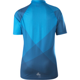Löffler Half-Zip Bike Jersey Kids, azul